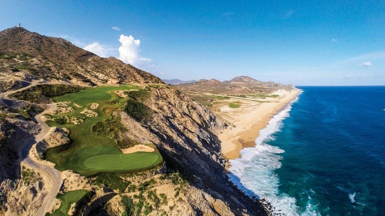 310-yard fifth at Quivira Golf Club In Cabo San Lucas, Mexico