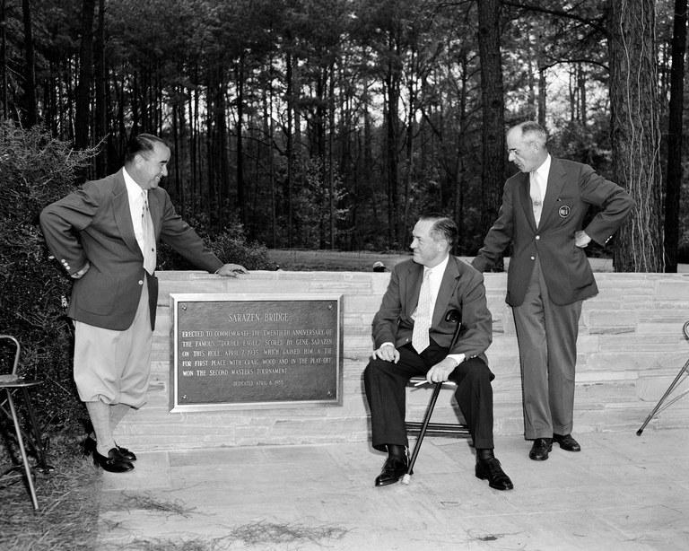 Gene Sarazen, Bobby Jones, Clifford Roberts