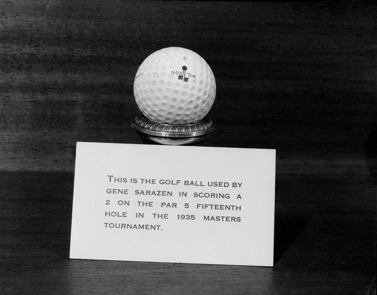 Gene Sarazen's double-eagle ball